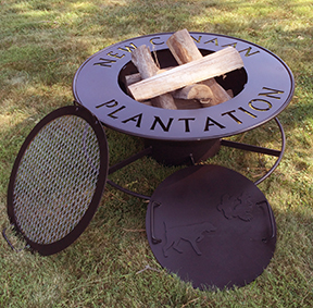 The Gathering Pot Custom Metal Fire Pit For Outdoor Grilling